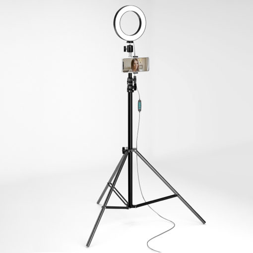 ReCam20 (кольцевая лампа 16см+блютуз пульт)