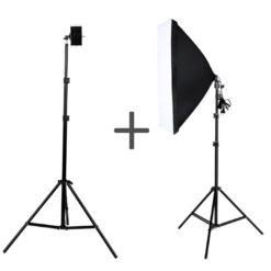 ReCam10+SoftCam10 Комплект штатив для телефона+ видеосвет!